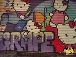 Graffiti in the Siam Square Area