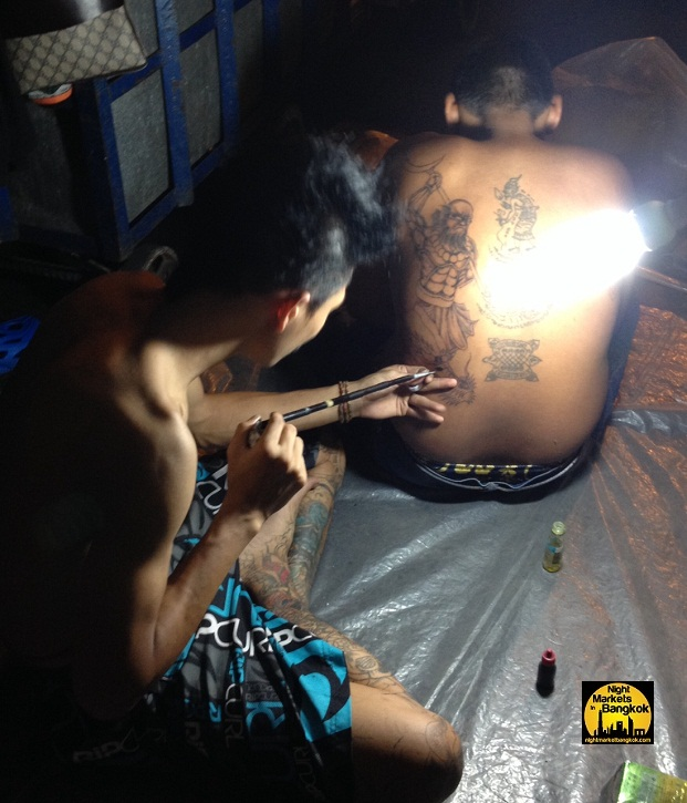 O.G thai tattoo @ Saphan Phut Night Market