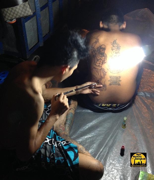 O.G thai tattoo @ Saphan Phut Night Market