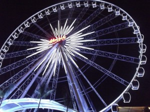 Ferris Wheel at Asiatique Night MArket