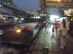 Pratunam Boat Pier for Indra Market