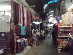 Some Thai Silk @ Pratunam Market in Bangkok
