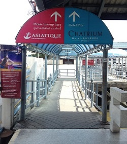 Ferry Entrance to Asiatique Market