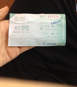 Ferry Ticket to Asiatique Market