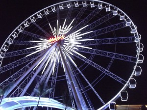 You have to ride the Ferris Wheel when you go to the Asiatique Market