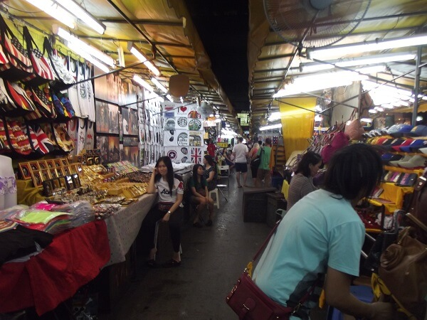 Walking through Patpong Night Market