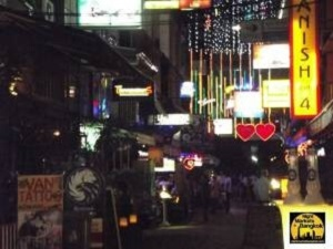 PatPong Night Market is always happening at night