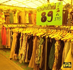 Clothes at Wang Lang Market