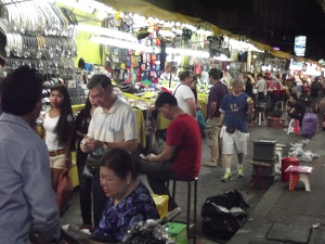 Always busy at Patpong Night Market