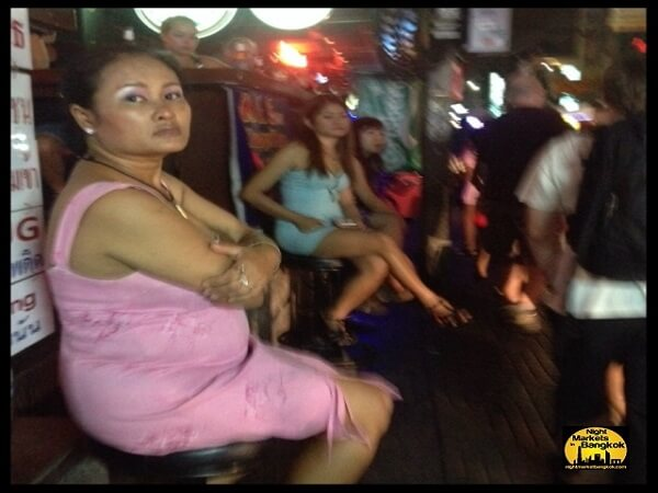 Hanging outside on Soi 4 at Nana Plaza