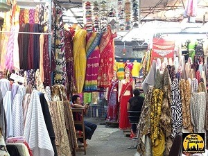 Buying more silk at Phahurat Market