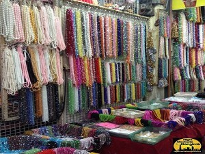 Lots of material to make Necklaces at Sampeng Market