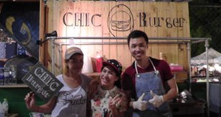 Nice people at Chic Burger JJ Green