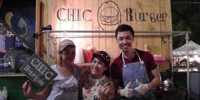 Nice people at Chic Burger JJ Green