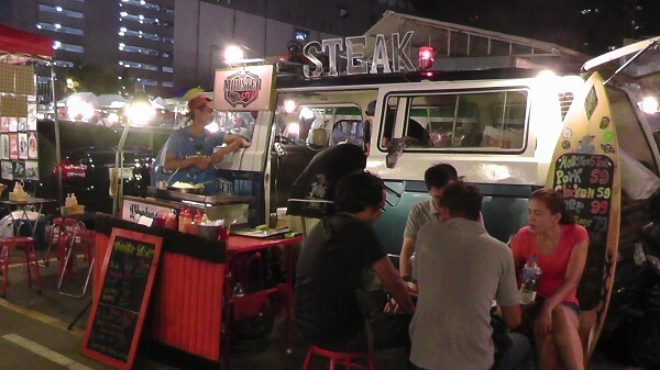 Eat some Steak at Train Market Ratchada